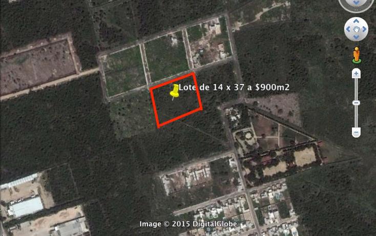 Foto de terreno habitacional en venta en  , dzitya, mérida, yucatán, 1732326 No. 02