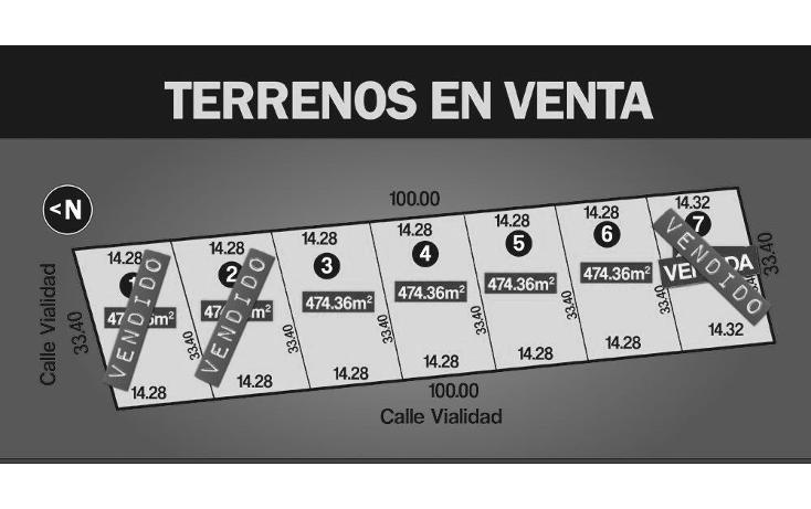 Foto de terreno habitacional en venta en  , dzitya, mérida, yucatán, 1769036 No. 01