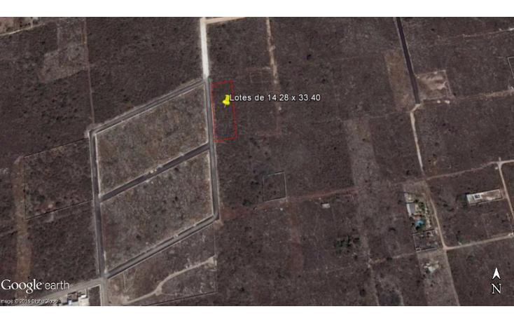 Foto de terreno habitacional en venta en  , dzitya, mérida, yucatán, 1769036 No. 02