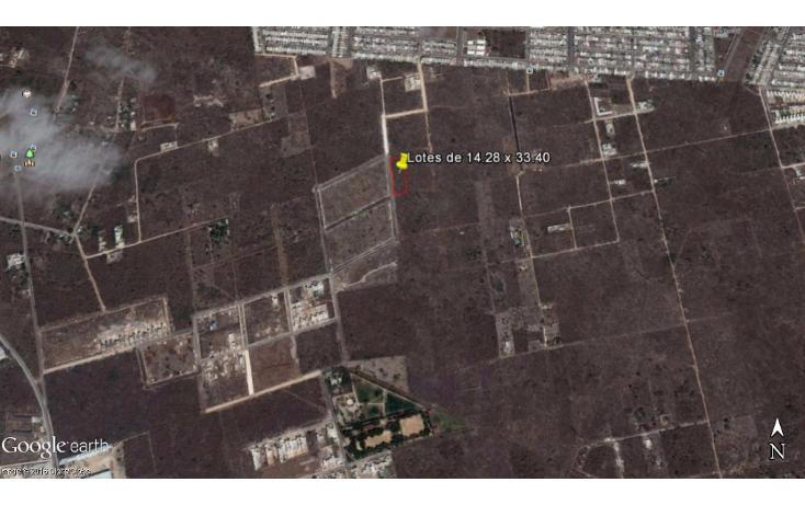 Foto de terreno habitacional en venta en  , dzitya, mérida, yucatán, 1769036 No. 03