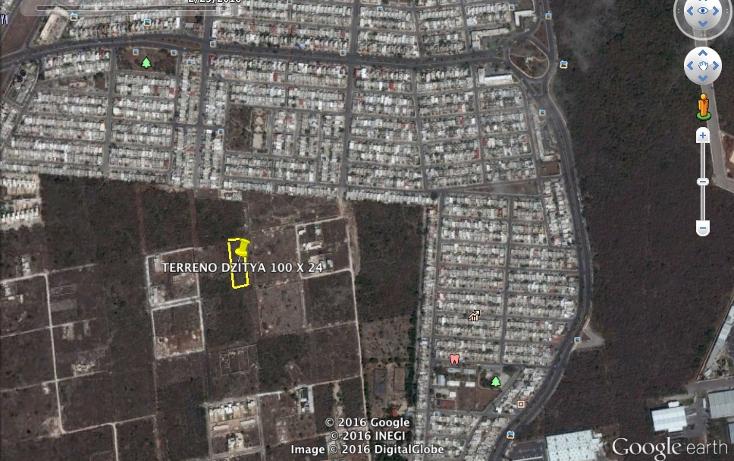 Foto de terreno habitacional en venta en  , dzitya, mérida, yucatán, 1785708 No. 03