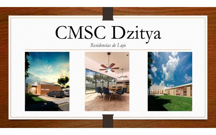 Foto de casa en venta en  , dzitya, mérida, yucatán, 1812802 No. 01