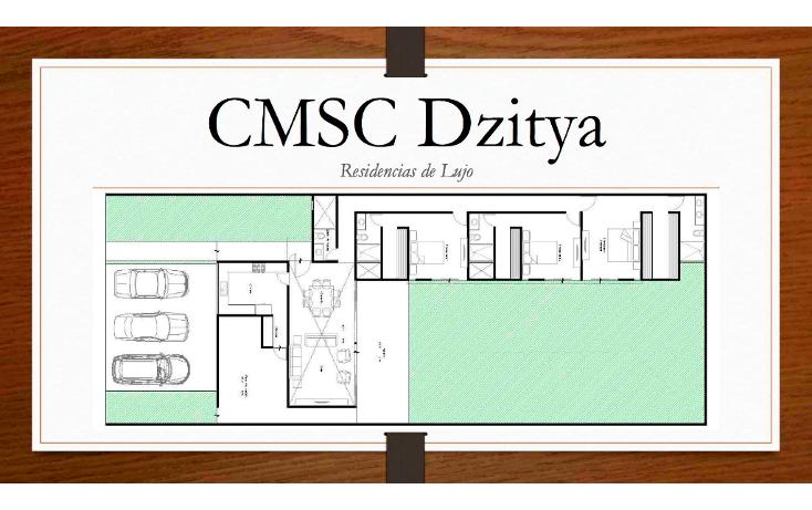 Foto de casa en venta en  , dzitya, mérida, yucatán, 1812802 No. 02