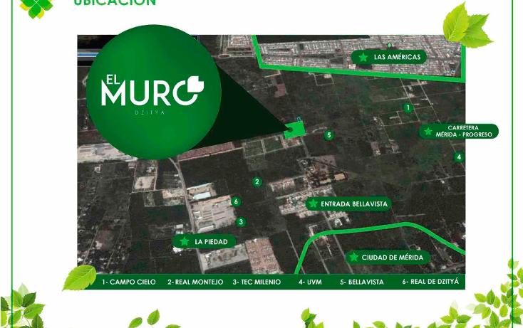 Foto de terreno habitacional en venta en  , dzitya, mérida, yucatán, 1820746 No. 01