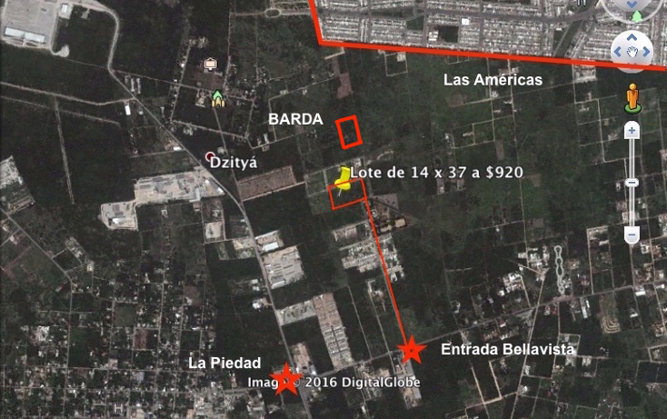 Foto de terreno habitacional en venta en  , dzitya, mérida, yucatán, 1821544 No. 01