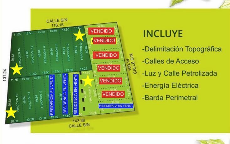 Foto de terreno habitacional en venta en  , dzitya, mérida, yucatán, 1871090 No. 01