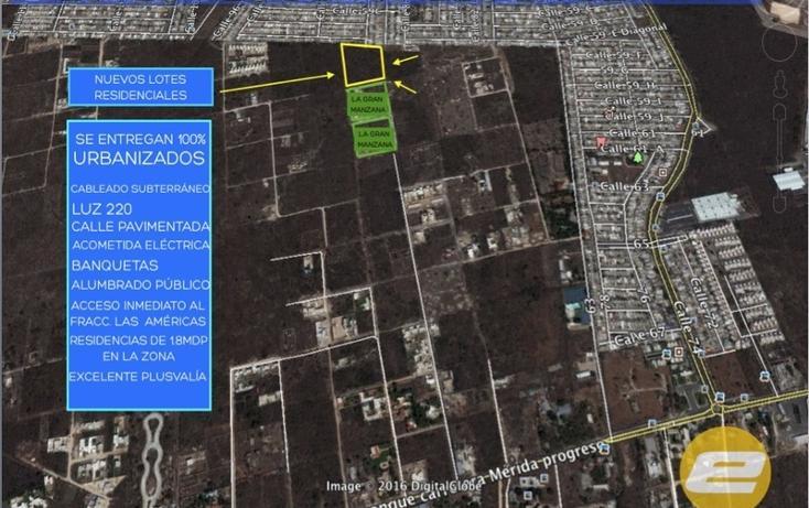 Foto de terreno habitacional en venta en  , dzitya, mérida, yucatán, 1871090 No. 02