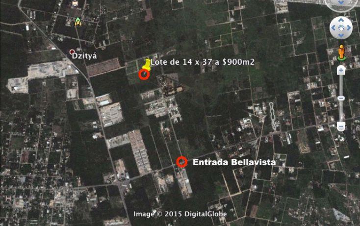Foto de terreno habitacional en venta en, dzitya, mérida, yucatán, 1943568 no 01