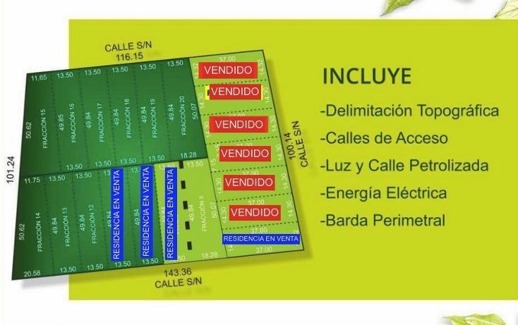 Foto de terreno habitacional en venta en  , dzitya, mérida, yucatán, 1985521 No. 01