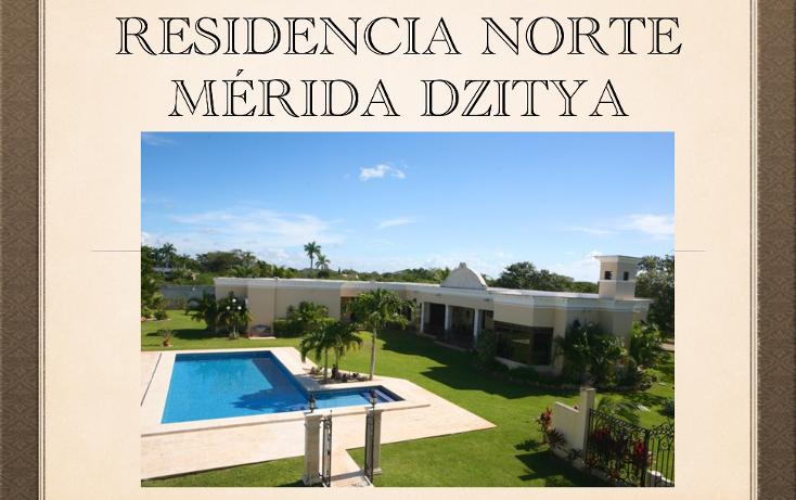 Foto de casa en venta en  , dzitya, mérida, yucatán, 1998720 No. 01