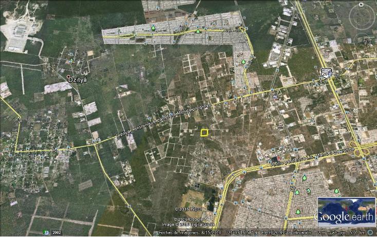 Foto de terreno habitacional en venta en  , dzitya, m?rida, yucat?n, 2001807 No. 01