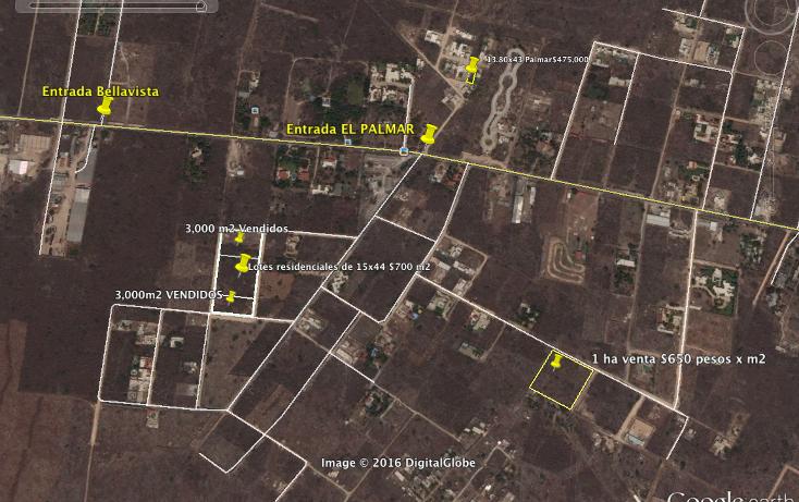 Foto de terreno habitacional en venta en  , dzitya, m?rida, yucat?n, 2001807 No. 02