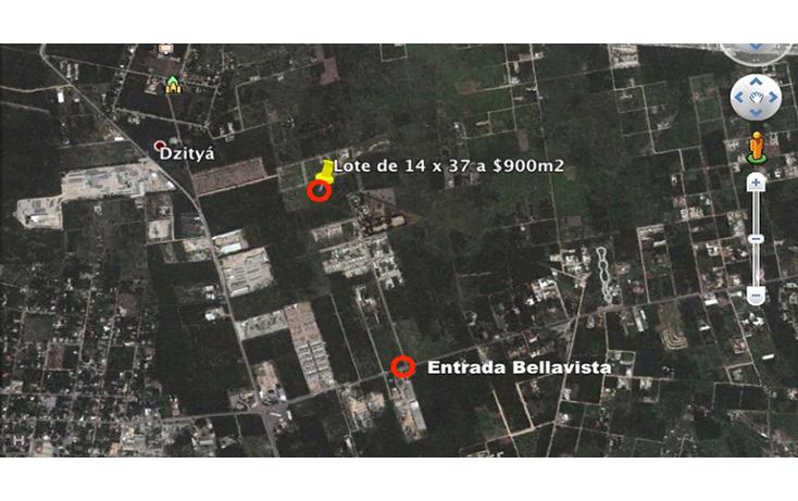 Foto de terreno comercial en venta en  , dzitya, mérida, yucatán, 2003414 No. 02