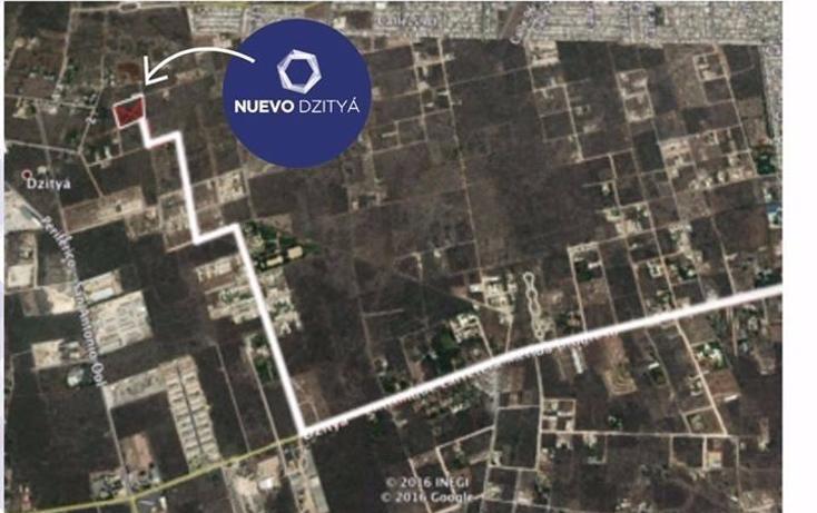 Foto de terreno habitacional en venta en  , dzitya, mérida, yucatán, 2006104 No. 02
