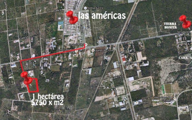 Foto de terreno habitacional en venta en, dzitya, mérida, yucatán, 2011696 no 01
