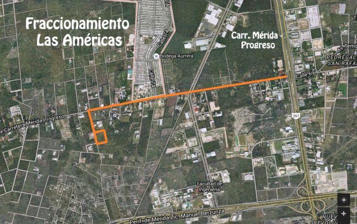 Foto de terreno habitacional en venta en, dzitya, mérida, yucatán, 2011696 no 02