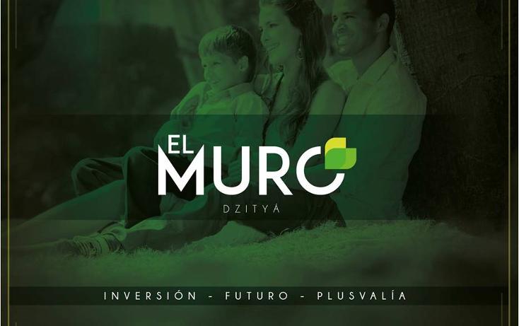 Foto de terreno habitacional en venta en  , dzitya, mérida, yucatán, 2019838 No. 01