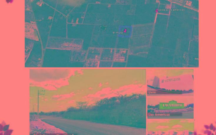 Foto de terreno habitacional en venta en  , dzitya, mérida, yucatán, 2022256 No. 02