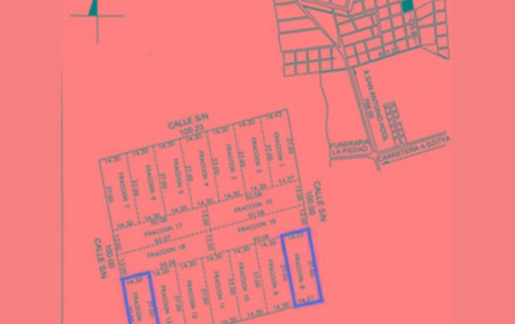 Foto de terreno habitacional en venta en  , dzitya, mérida, yucatán, 2022256 No. 04