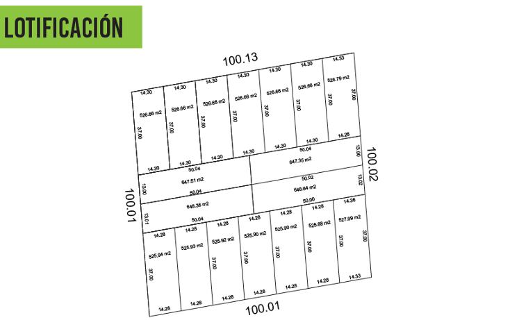 Foto de terreno habitacional en venta en  , dzitya, m?rida, yucat?n, 2038118 No. 11