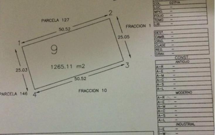 Foto de terreno habitacional en venta en  , dzitya, mérida, yucatán, 2042489 No. 02