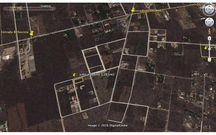 Foto de terreno habitacional en venta en  , dzitya, mérida, yucatán, 2042489 No. 04