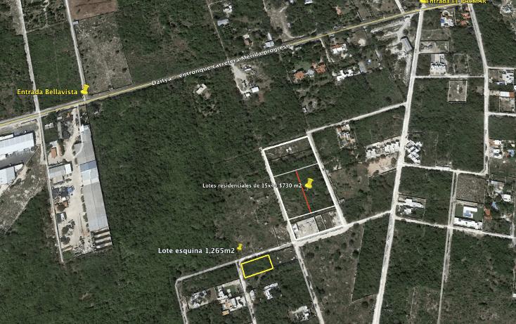 Foto de terreno habitacional en venta en  , dzitya, mérida, yucatán, 737687 No. 01