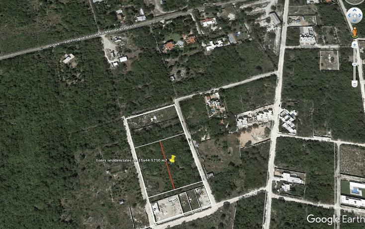 Foto de terreno habitacional en venta en  , dzitya, mérida, yucatán, 737687 No. 02