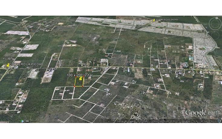 Foto de terreno habitacional en venta en  , dzitya, mérida, yucatán, 737687 No. 04