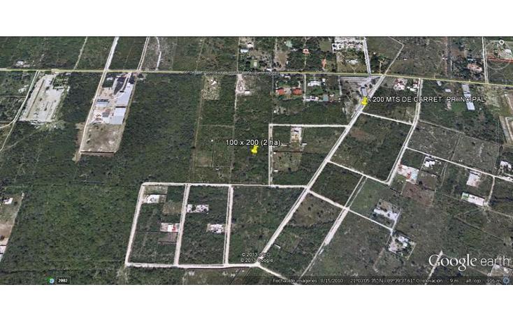 Foto de terreno habitacional en venta en  , dzitya, mérida, yucatán, 737687 No. 06