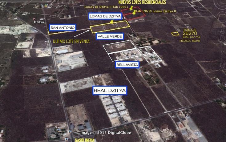 Foto de terreno habitacional en venta en  , dzitya, mérida, yucatán, 878527 No. 04
