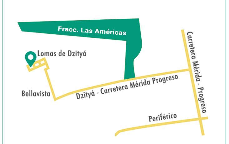 Foto de terreno habitacional en venta en  , dzitya, mérida, yucatán, 878527 No. 05