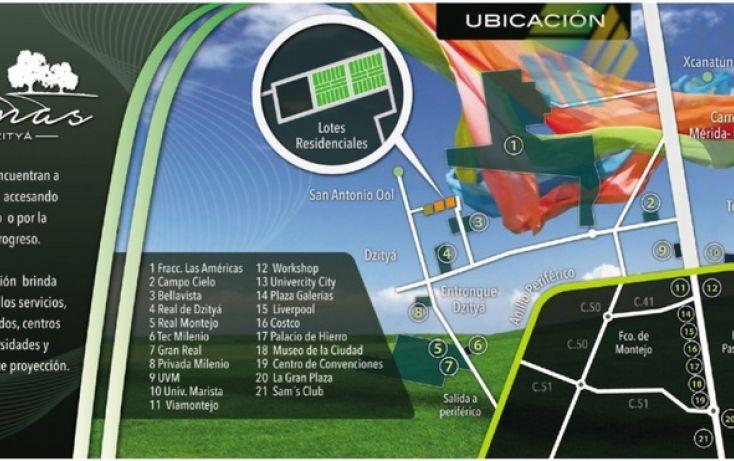 Foto de terreno habitacional en venta en, dzitya, mérida, yucatán, 878527 no 09