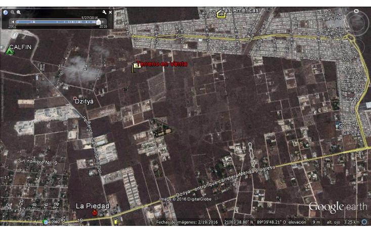 Foto de terreno habitacional en venta en  , dzitya, mérida, yucatán, 945779 No. 02