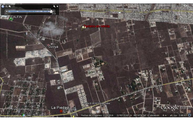 Foto de terreno habitacional en venta en  , dzitya, mérida, yucatán, 945779 No. 08