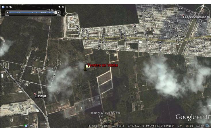 Foto de terreno habitacional en venta en  , dzitya, mérida, yucatán, 945779 No. 09