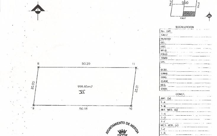 Foto de terreno habitacional en venta en  , dzitya, mérida, yucatán, 945779 No. 10