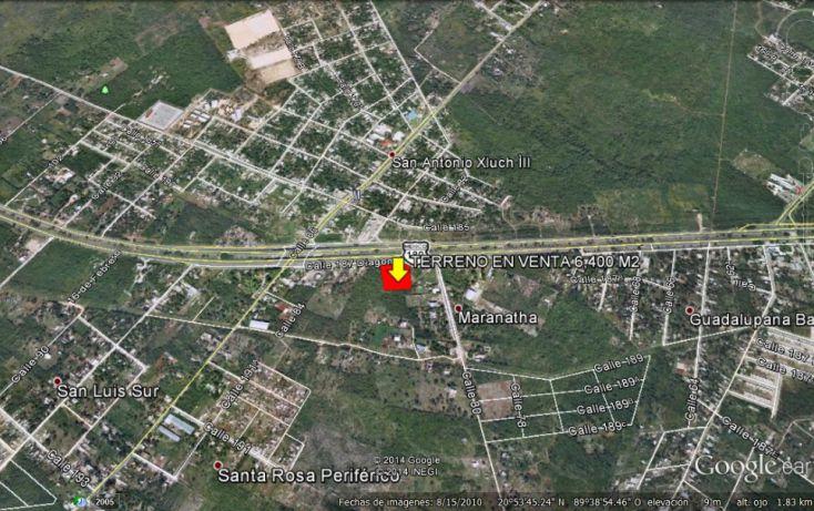 Foto de terreno habitacional en venta en, dzununcán, mérida, yucatán, 1169771 no 03