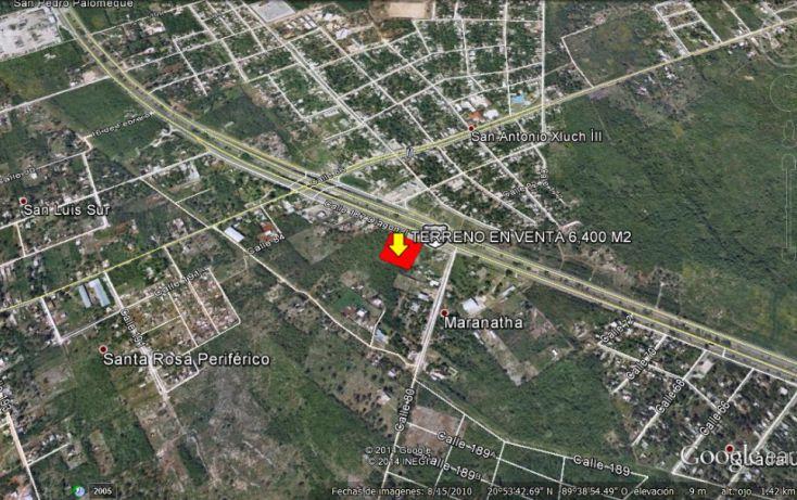 Foto de terreno habitacional en venta en, dzununcán, mérida, yucatán, 1169771 no 04