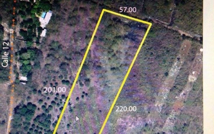 Foto de terreno habitacional en venta en  , dzununcán, mérida, yucatán, 1226259 No. 01