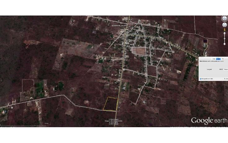 Foto de terreno comercial en venta en  , dzununc?n, m?rida, yucat?n, 1274065 No. 02