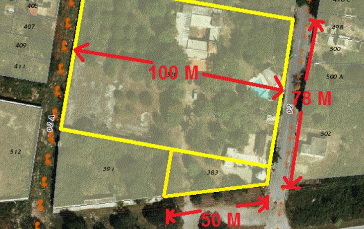 Foto de terreno comercial en venta en  , dzununc?n, m?rida, yucat?n, 1955453 No. 01