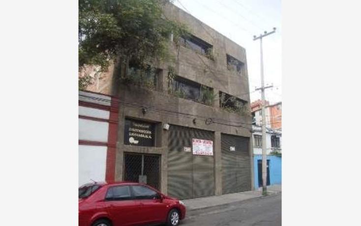 Foto de edificio en venta en  e, san simón ticumac, benito juárez, distrito federal, 1902706 No. 01