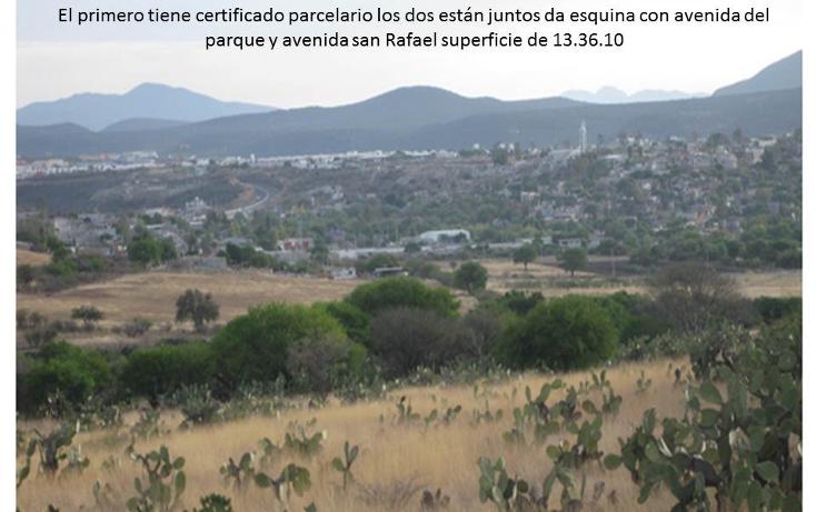 Foto de terreno comercial en venta en  , eduardo loarca, querétaro, querétaro, 1227893 No. 01