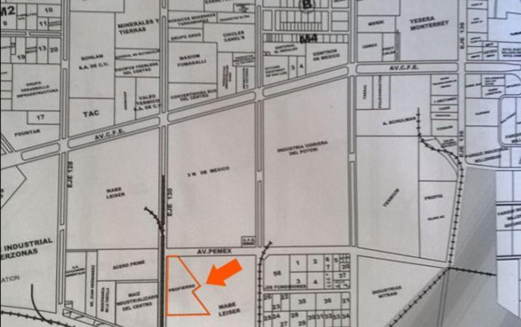 Foto de terreno habitacional en venta en eje 130, zona industrial, san luis potosí, san luis potosí, 1005909 no 01