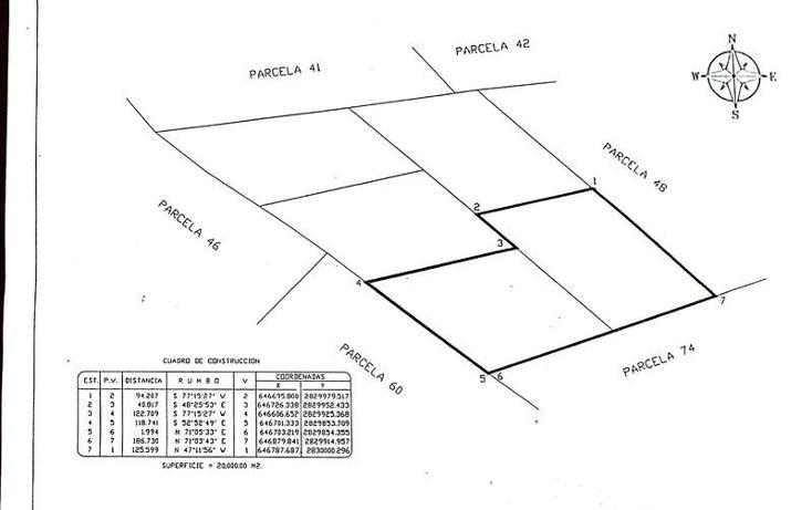 Foto de terreno habitacional en venta en  , ejidal, gómez palacio, durango, 1432831 No. 04