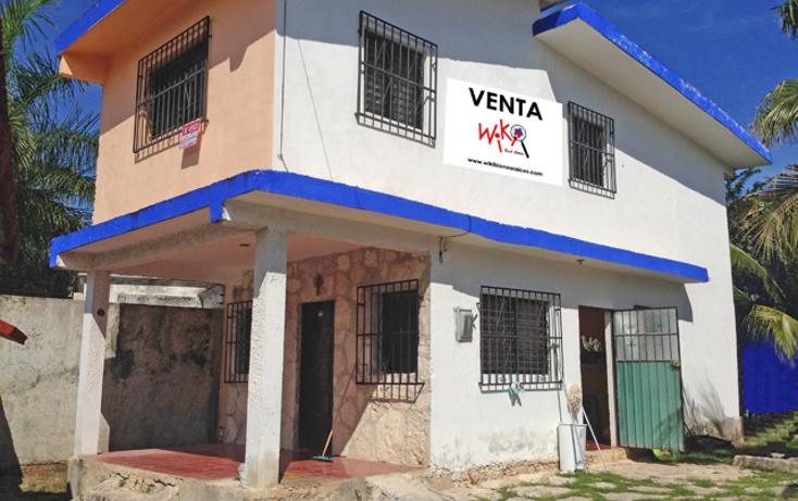 Foto de casa en venta en  , ejidal, solidaridad, quintana roo, 1064683 No. 01