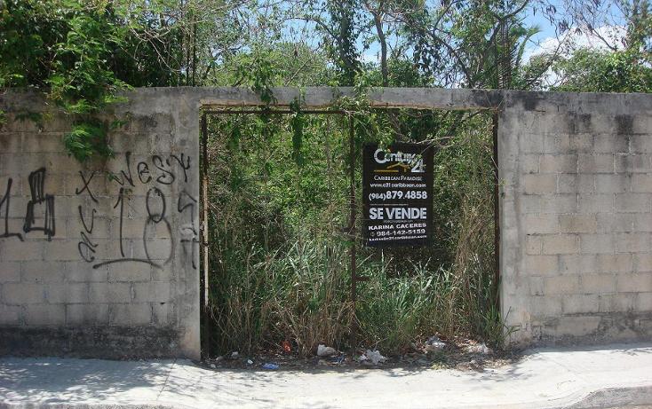Foto de terreno comercial en venta en  , ejidal, solidaridad, quintana roo, 1275283 No. 01