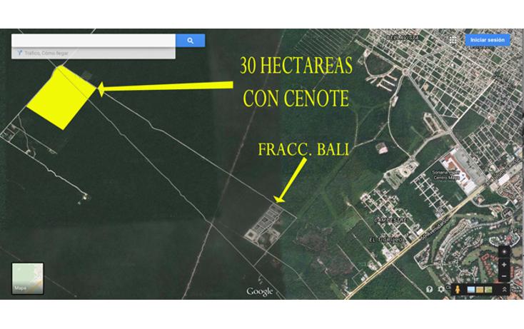Foto de terreno habitacional en venta en  , ejidal, solidaridad, quintana roo, 1284157 No. 02