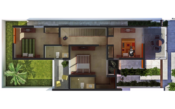 Foto de casa en venta en  , ejidal, solidaridad, quintana roo, 1376617 No. 12